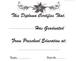 preschool graduation diploma prek graduation diploma kindergarten graduation free printable diplomas