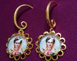 frida earrings frida earrings etsy