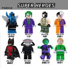 Beast Boy Halloween Costume Aliexpress Buy 8pcs Lot Pg8018 Dc Super Hero Villains Beast