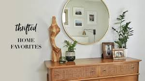 my favorite thrifted home decor finds youtube