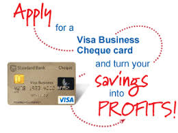 Visa Business Card Standard Bank Visa Business Cheque Acquisition