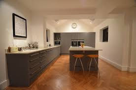 finished kitchen units by john lewis of hungerford flooring by