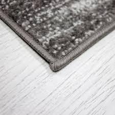 jugendzimmer teppich jugendzimmer teppich sternmuster in schwarz grau heatset r9121