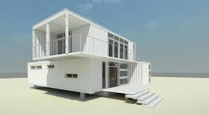 white two story container home affordable accomedations