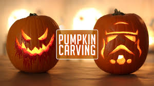 pumpkin carving happy halloween youtube