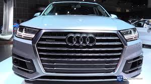 Audi Q7 Colors - 2017 audi q7 3 0 t quattro exterior and interior walkaround