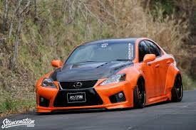 lexus gsf custom closer look at vip gt is f by aimgain stancenation form