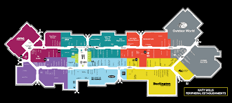 Map Of Premium Outlets Orlando by Mall Map For Katy Mills A Shopping Center In Katy Tx 77494