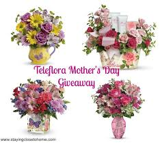 mothers day flowers from teleflora giveaway close to home