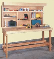 benches space saver workbench plans