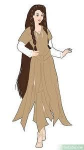 Halloween Costume Princess Leia Leia Organa Ewok Village Gown Rebel Legion Standards Cosplay