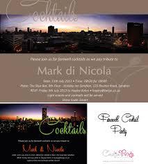 corporate farewell invite creative prints