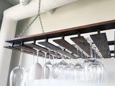 laurel highlands woodshop 24 hanging wine glass rack for dad
