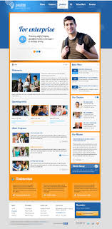 joomla education templates preview sj education an academical joomla education template