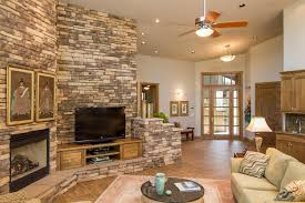 photos hgtv rustic living room with stone fireplace loversiq