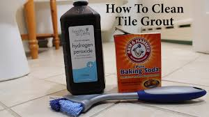 how to clean tile grout no harsh chemicals fast easy to the