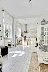 love love love this white painted wood floor white decor sisal