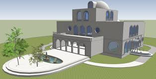 Modern House Plans Free Modern House Design 2 My Sketchupv Ray Playground Best Sketchup