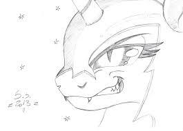 nightmare moon smile sketch by scarred spike on deviantart
