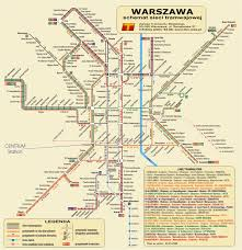 Map Poland Maps Of Warsaw Detailed Map Of Warsaw In English Maps Of