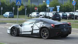Ferrari 458 Coupe - ferrari 458 m coupe u0026 spider spied testing a new exhaust system
