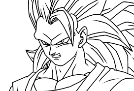 dragon ball coloring pages goku super saiyan goku coloring