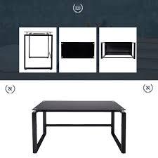 amazon com merax home office computer desk simple design table