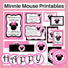 minnie mouse birthday party inspiration lifes little celebration