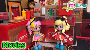 lil u0027 shoppies rainbow kate u0026 popette go to the movies miworld amc