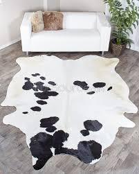 black u0026 white brazilian cowhide rug 192 50 sq ft