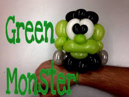 halloween baloons balloon green monster balloon twisting tutorials 11 youtube