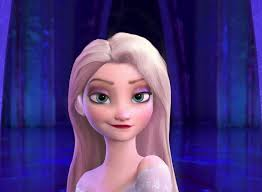 see what you would look like with different color hair elsa with different hair i think it would be a bit waiver