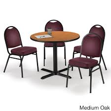 round 36 inch pedestal table with 4 armless stacking chairs inch round 36 inch pedestal table with 4 armless stacking chairs inch burgundy vinyl