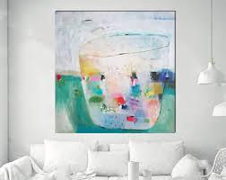 Interior Wall Art Design Acrylic Paintings Etsy