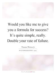Resume Formula Would You Like Me To Give You A Formula For Success It U0027s Quite