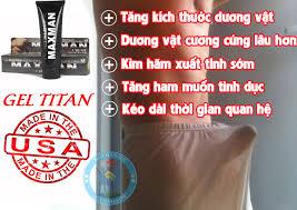 gel titan mua ở đâu hàng thật đảm bảo chính hãng
