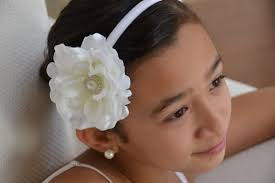 flower girl headbands flower wedding headbands