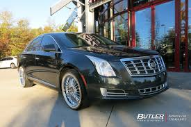 cadillac xts wheels cadillac xts with 20in beyern multi wheels exclusively from butler
