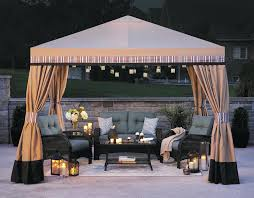 pavilion patio furniture exterior patio swing with canopy sears 2 person black wicker