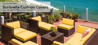 Patio Furniture With Sunbrella Cushions Ohana Depot Patio Furniture Wicker Furniture Outdoor Furniture