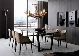 contemporary floor lamps dining room contemporary with antler