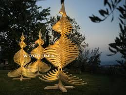 Large Outdoor Wooden Christmas Decorations by Albert Illum 400 Cm Large Outdoor Spiral Led Lighted Wooden