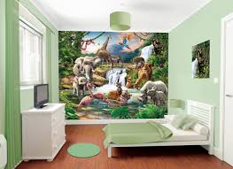 kids room giant nursery wall decal scroll tree owl jungle animal kids room jungle mural kids wall murals inside kids room jungle kids room jungle regarding
