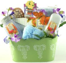 gift basket ideas for women spa therapy gift basket for women