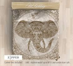 Elephant Twin Bedding Elephant Bedding Mandala Elephant Duvet Cover Set Artbedding