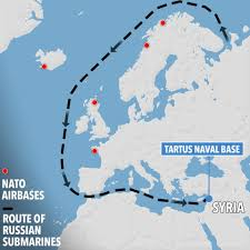 Syria On World Map by Russia Sends Two Stealth Submarines Into The Med To Boost Putin U0027s