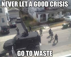 Boston Meme - manhunt in boston door to door warrantless searches videos
