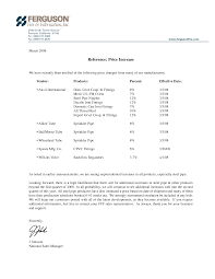 best photos of rate increase letter template rate increase