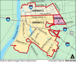 Baton Rouge Map Mid City Crime Blotter For June 16 22 2017 Mid City