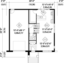 Foundation Floor Plan by Contemporary Style House Plan 2 Beds 1 00 Baths 1154 Sq Ft Plan
